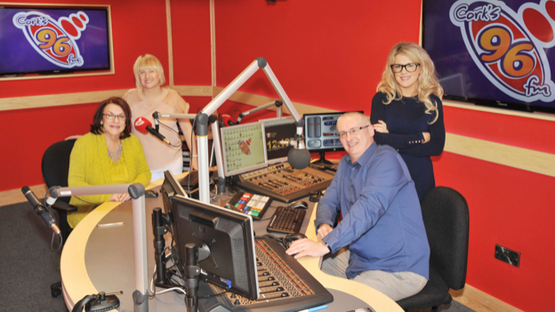 Bibi Baskin is back on-air with Cork's 96FM