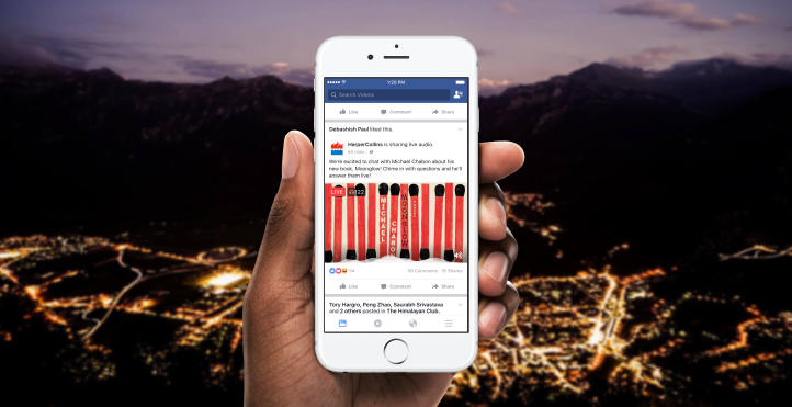 Great news: Facebook to offer Live Audio service
